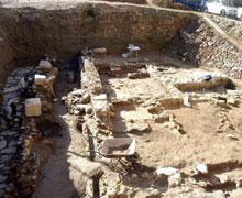 Cartagena. Los arqueólogos encuentran 50 metros de calzada romana en El Molinete.