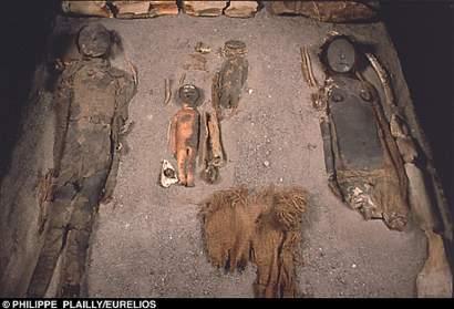 Descubren en Chile momias chinchorro de 6.000 años de antigüedad