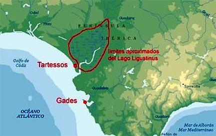 mapa tartessos Gadir TerraeAntiqvae