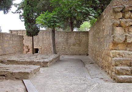 Puerta norte en recodo Medina Azahara TA