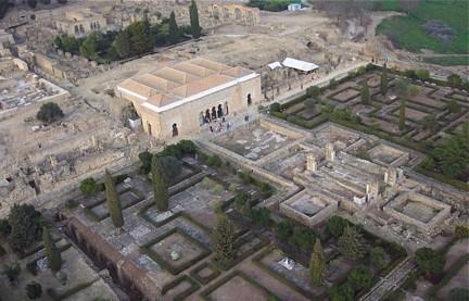 Vista aérea Medina Azahara