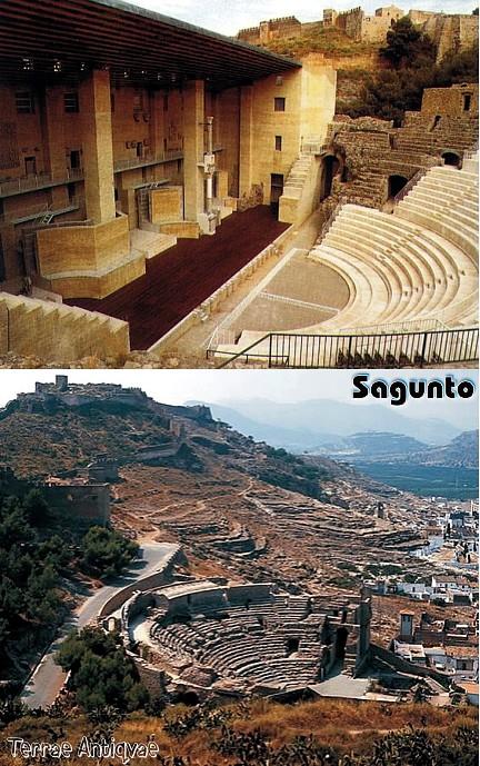 Sagunto Teatro Romano Terrae Antiqvae