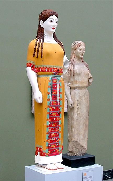 Peplos-koren 540 aC dos