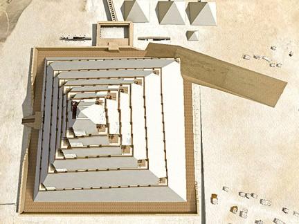 Khefu pirámide construcción 6 DASSAULT SYSTEMES ta