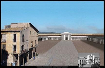 Tarraco Templo Augusto catedral