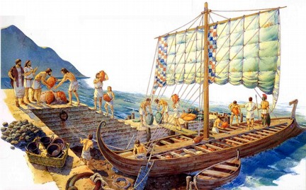 Barco etrusco