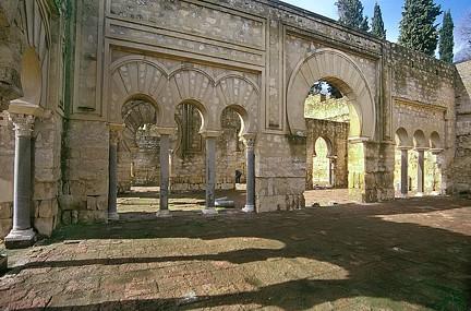 Edificio basilical superior Medina Azahara TA