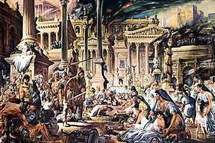 Los bárbaros conquistan Roma