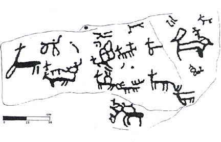 Petroglifo da Pedra do Cazador (Pedornes) TA