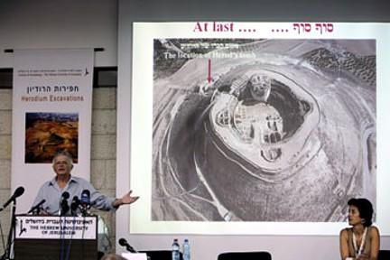Tumba Herodes presentación