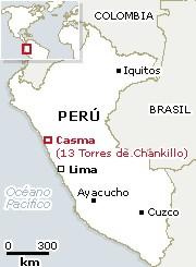 Chanquillo mapa