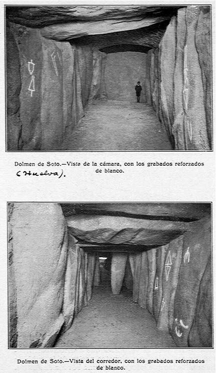 Dolmen de Soto Signos blanco
