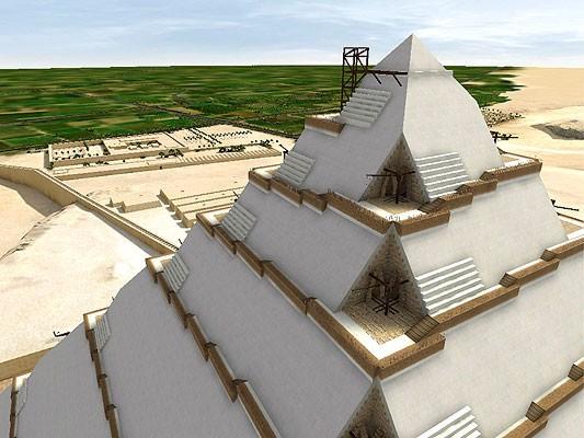 Khefu pirámide construcción 5 DASSAULT SYSTEMES ta