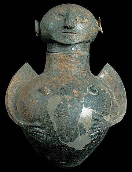 Canope femenino del siglo VII aC