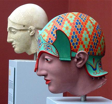 Aphaiatemplet Aigina 500 aC dos