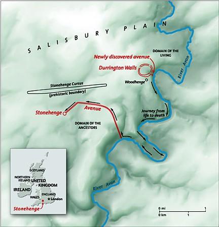 Stonehenge 004 mapa