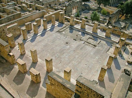 Patio de los pilares Medina Azahara TA
