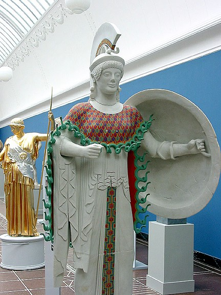 Athene Aphaiatemplet Aigina 500 aC