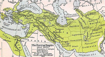 Imperio Persa 500 a.C.