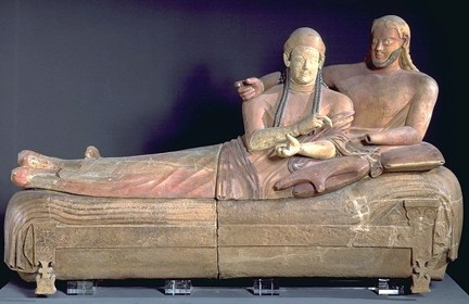 Sarcofago de los esposos etruscos