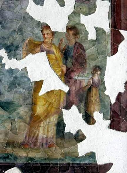 Casa de Augusto Palatino Roma 06