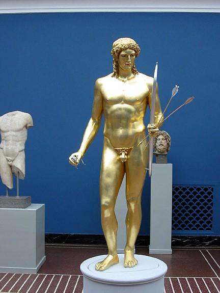 Apollon Parnopios af Fidias 450 aC