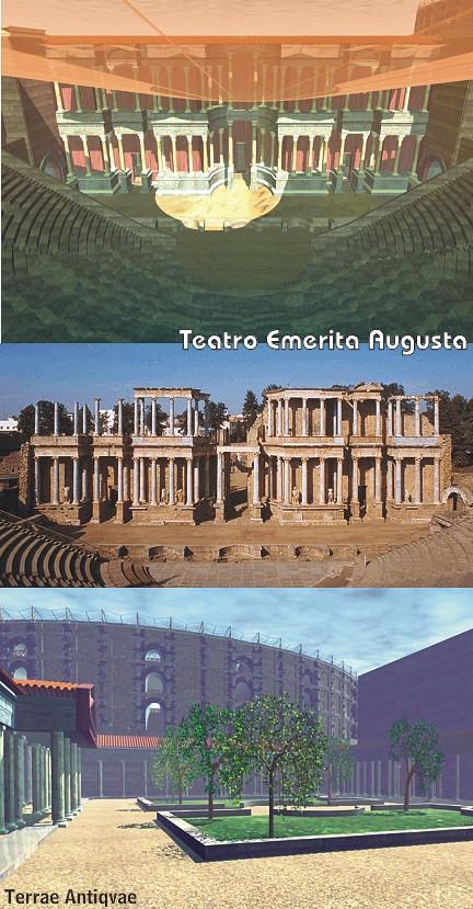 recreación teatro mérida TA
