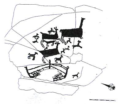 Petroglifo da Auga dos Cebros (Pedornes) TA