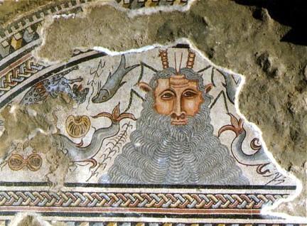Carranque mosaico Villa Materno Oceanus TA