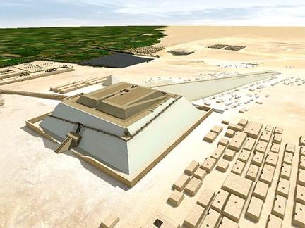 Khefu pirámide construcción 3 DASSAULT SYSTEMES ta