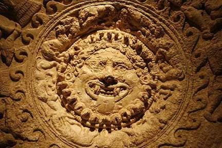 Particolare del Lampadario di Cortona Bronzo etrusco del VI