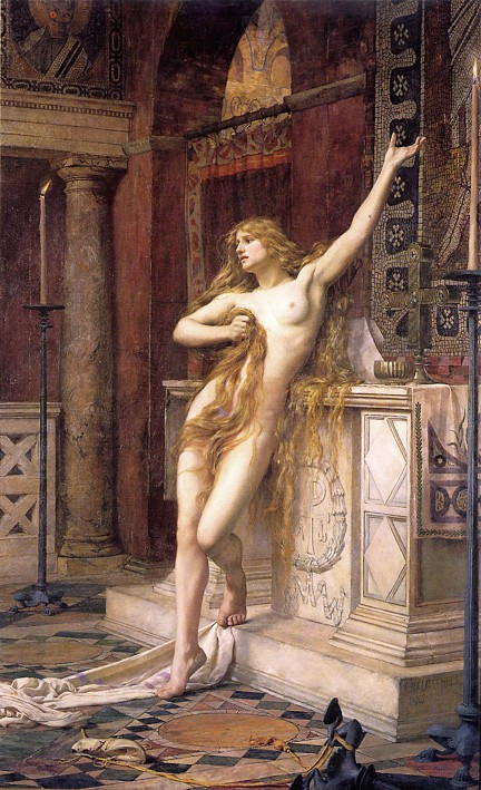 Hypatia Charles William Mitchell 1885