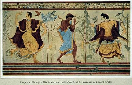 bailarines etruscos