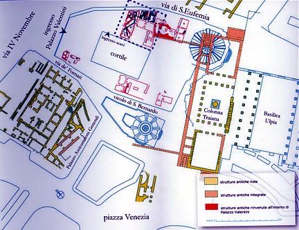 Excavación Palazzo Valentini