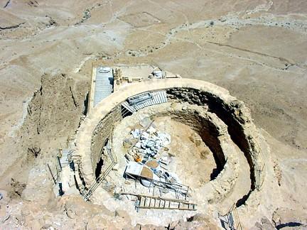 Herodión palacio fortaleza torre