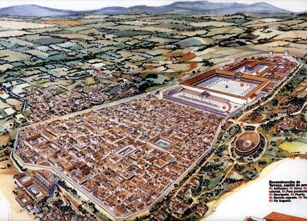 Reconstrucción Tarraco