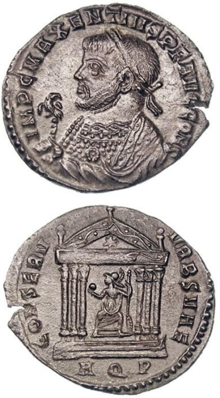monedaAguilaMajencio