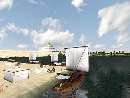 Khefu pirámide construcción 9 DASSAULT SYSTEMES ta