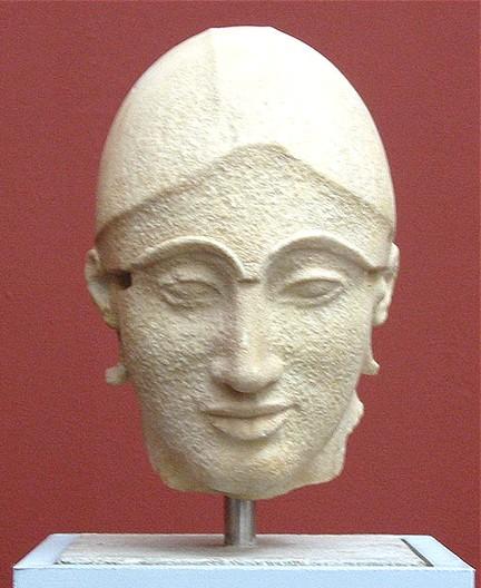 Aphaiatemplet Aigina 500 aC nocolor