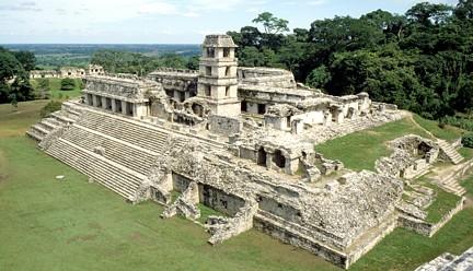Templo recinto Pakal Palenque