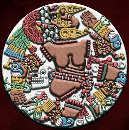 La Diosa Azteca Coyolxauhqui La Luna Terrae Antiqvae