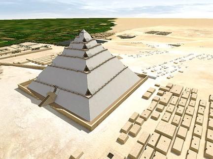 Khefu pirámide construcción 4 DASSAULT SYSTEMES ta
