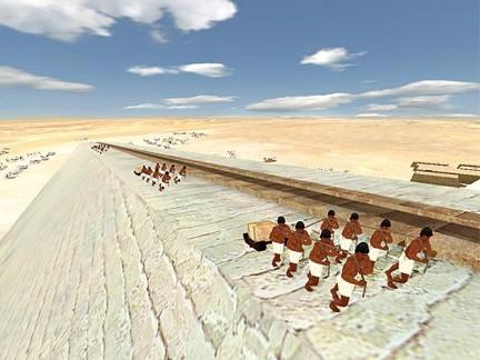 Khefu pirámide construcción 1 DASSAULT SYSTEMES ta