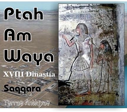 Ptah Am Waya XVIII dinastía