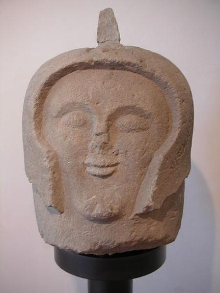 Etruscan cippus Found in Orvieto Italy