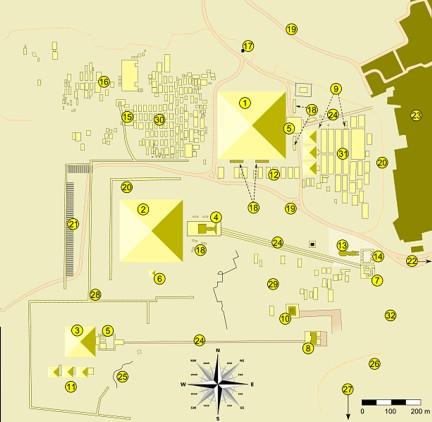 mapa giza