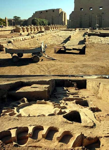 Karnak rampa y baños 01 Terrae Antiqvae