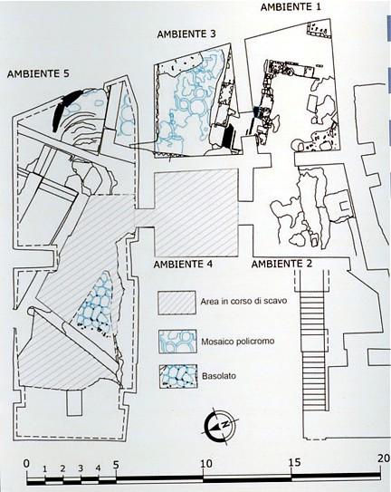 Excavación Palazzo Valentini 2