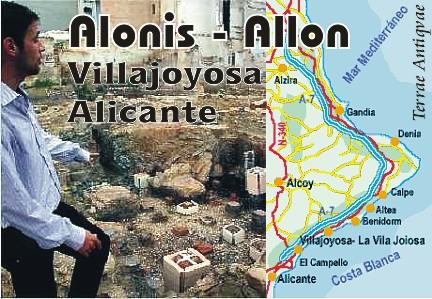 allon alonis Villajoyosa Alicante