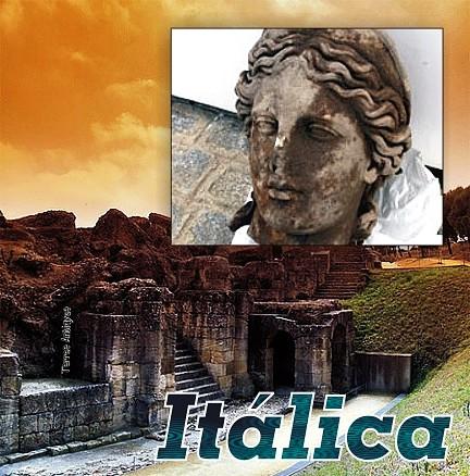 italica Sevilla busto Diana